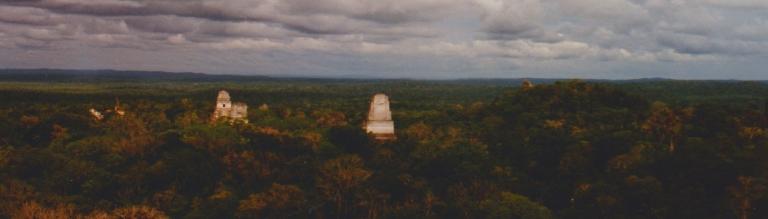guatemala tikal panorama