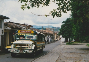 colombia bus